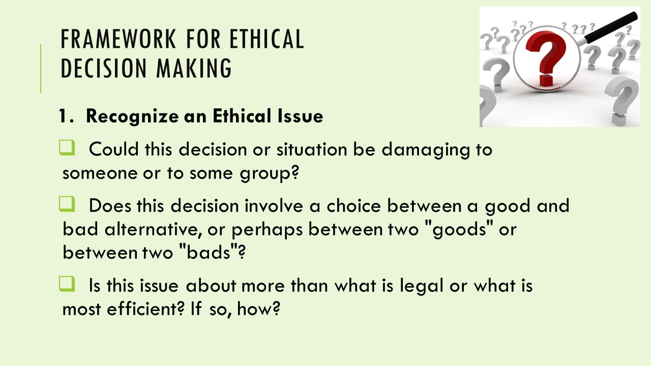 Code of Ethics: Principles for Ethical Leadership