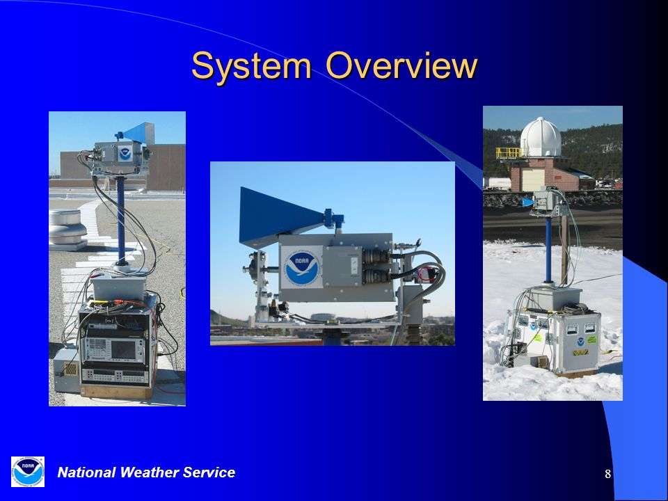 System Overview Photographs of the assembled system and a typical Signal Processing Module (SPM).