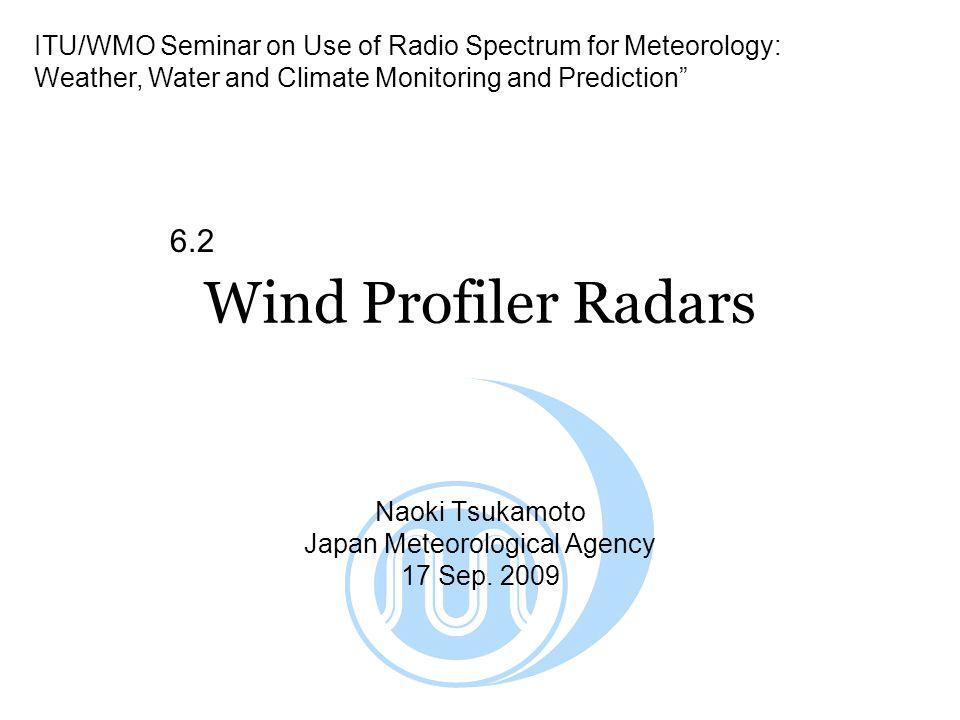 Naoki Tsukamoto Japan Meteorological Agency 17 Sep. 2009