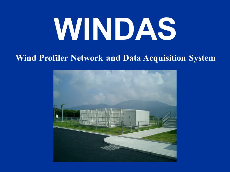 Wind Profiler Network and Data Acquisition System