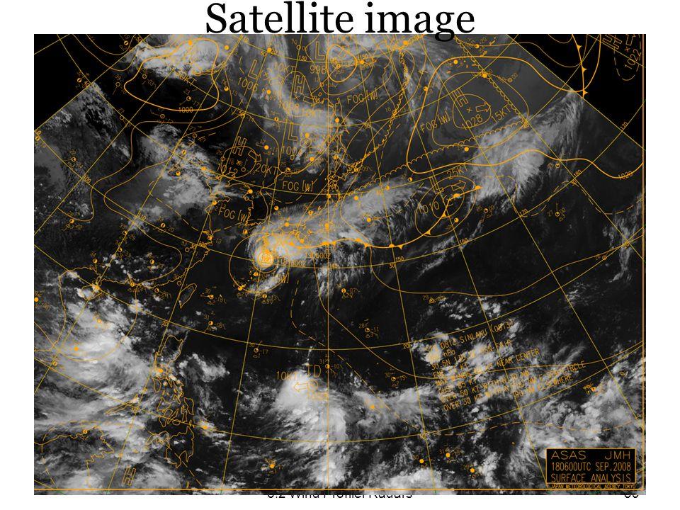 Satellite image 6.2 Wind Profiler Radars