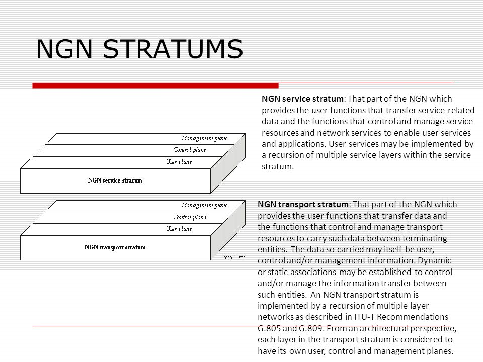 NGN STRATUMS