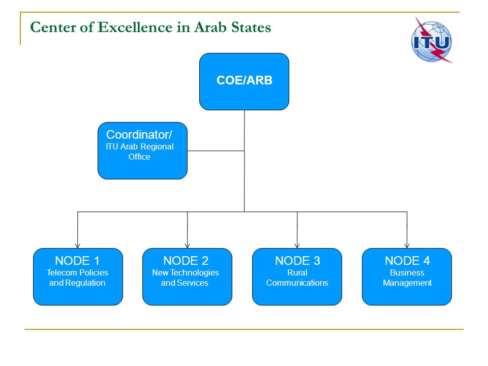 Center of Excellence in Arab States