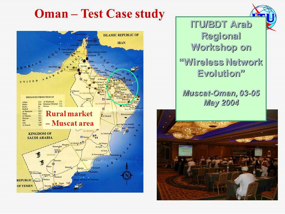 ITU/BDT Arab Regional Workshop on Wireless Network Evolution