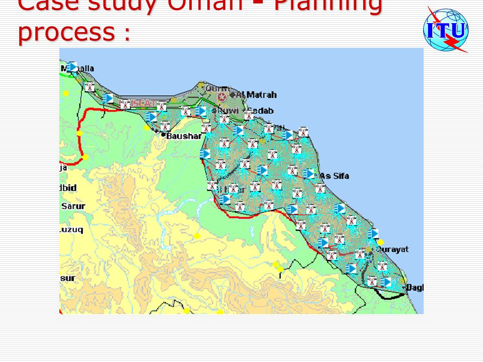 Case study Oman - Planning process :