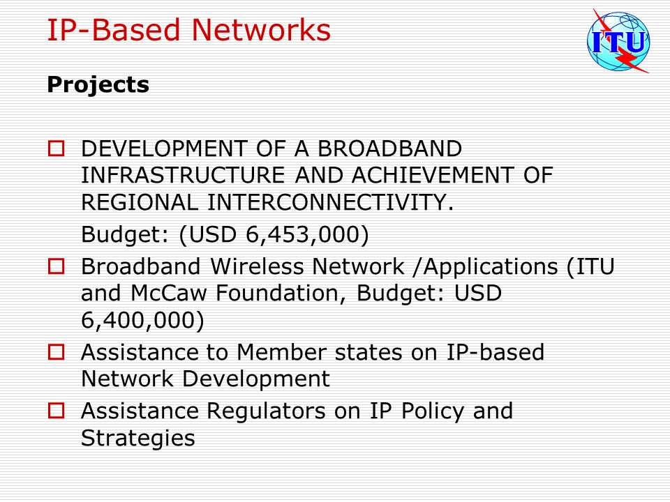 IP-Based Networks Projects