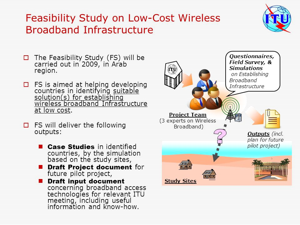 Feasibility Study on Low-Cost Wireless Broadband Infrastructure