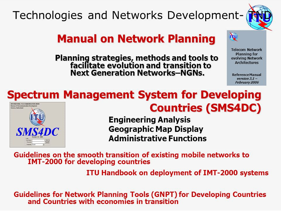 Technologies and Networks Development- TND