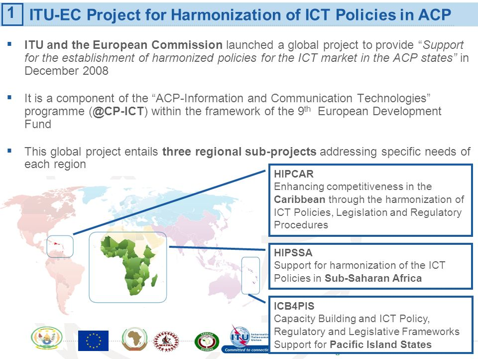 ITU-EC Project for Harmonization of ICT Policies in ACP