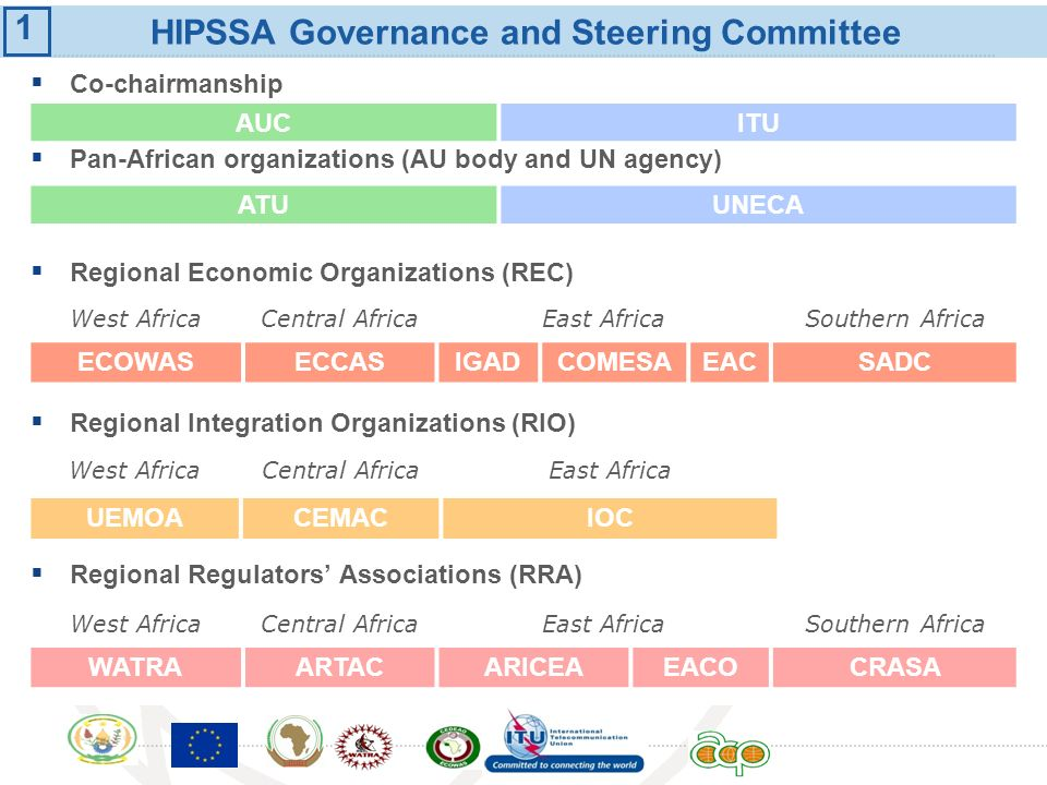 HIPSSA Governance and Steering Committee