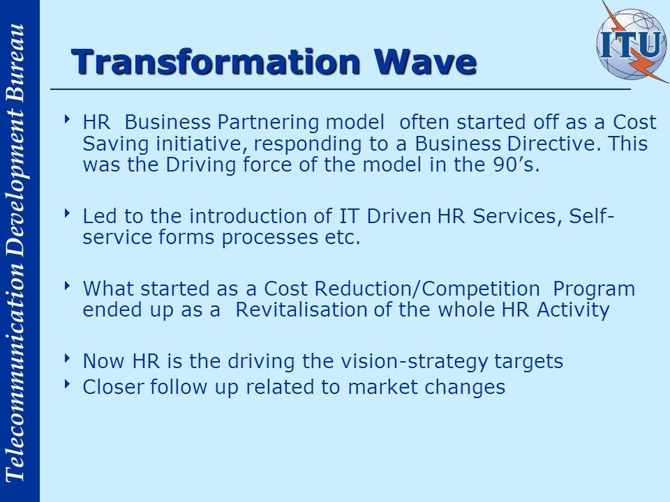 Transformation Wave