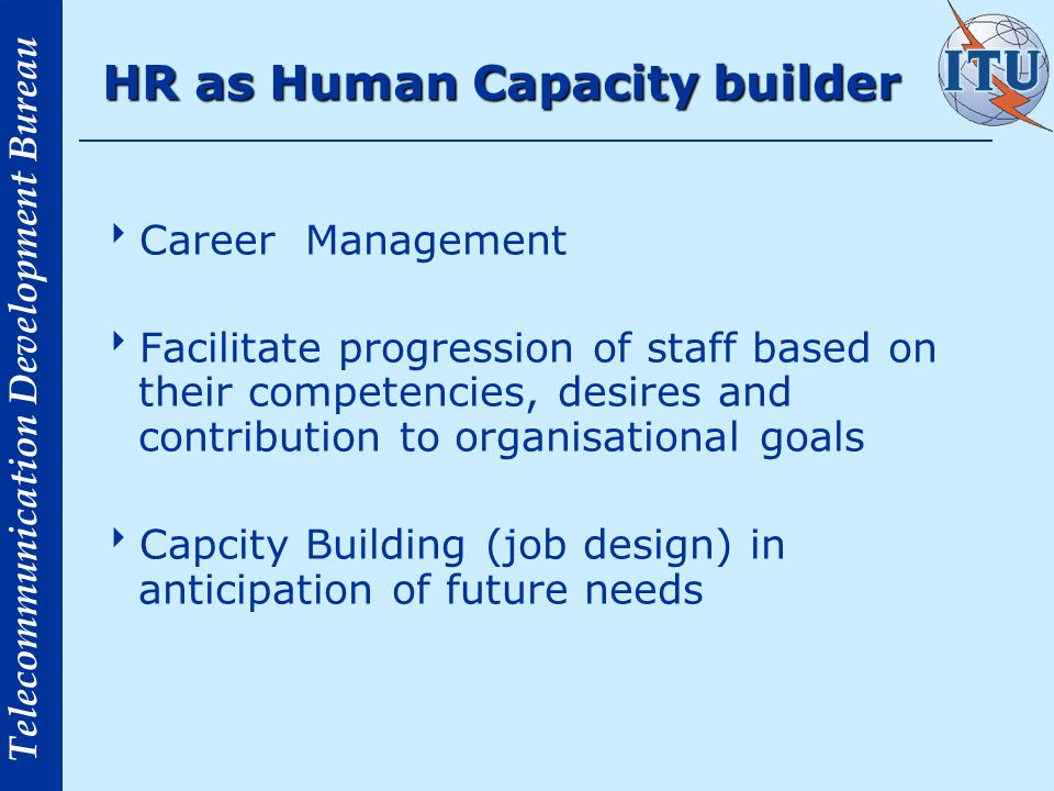HR as Human Capacity builder