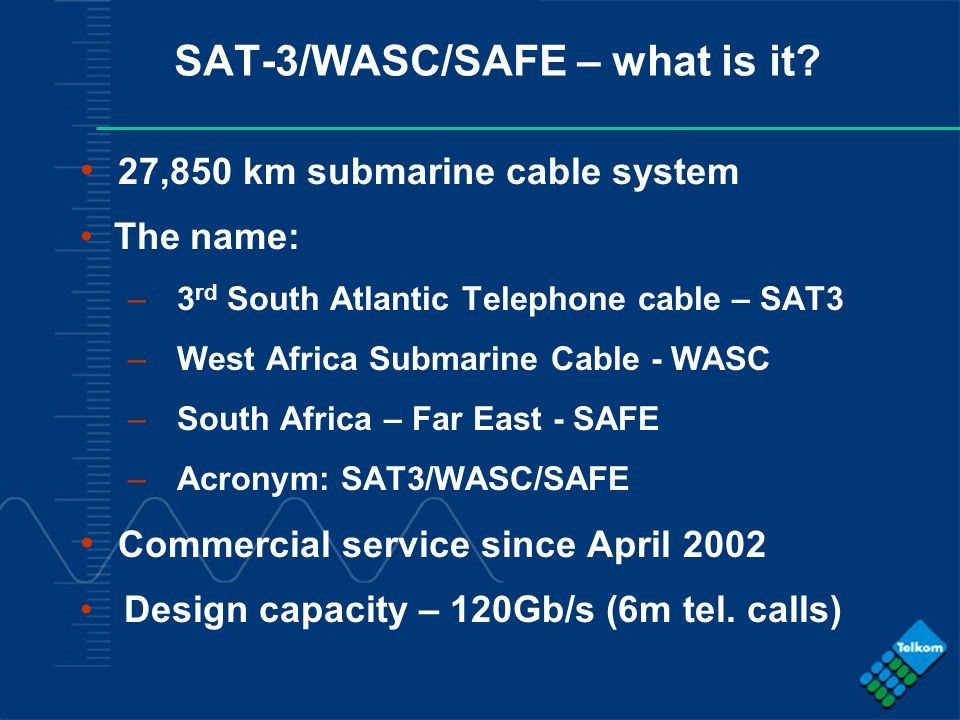 SAT-3/WASC/SAFE – what is it
