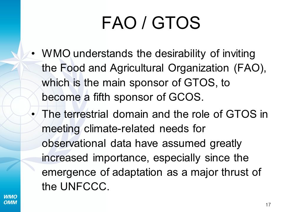 FAO / GTOS