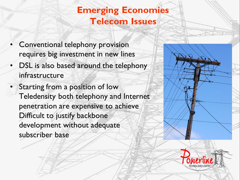 Emerging Economies Telecom Issues