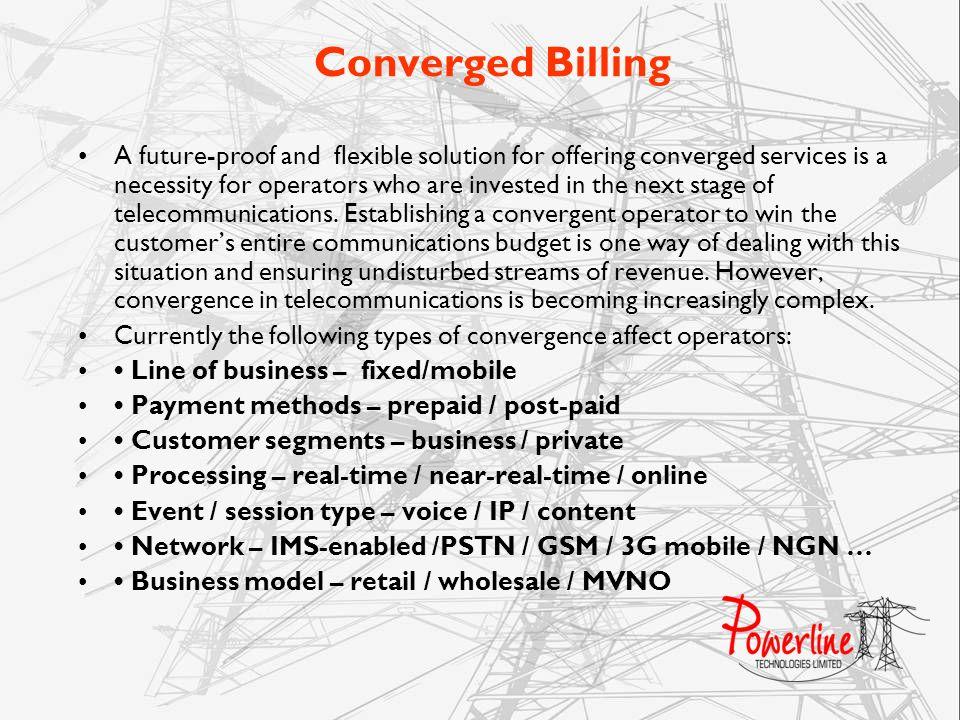 Converged Billing