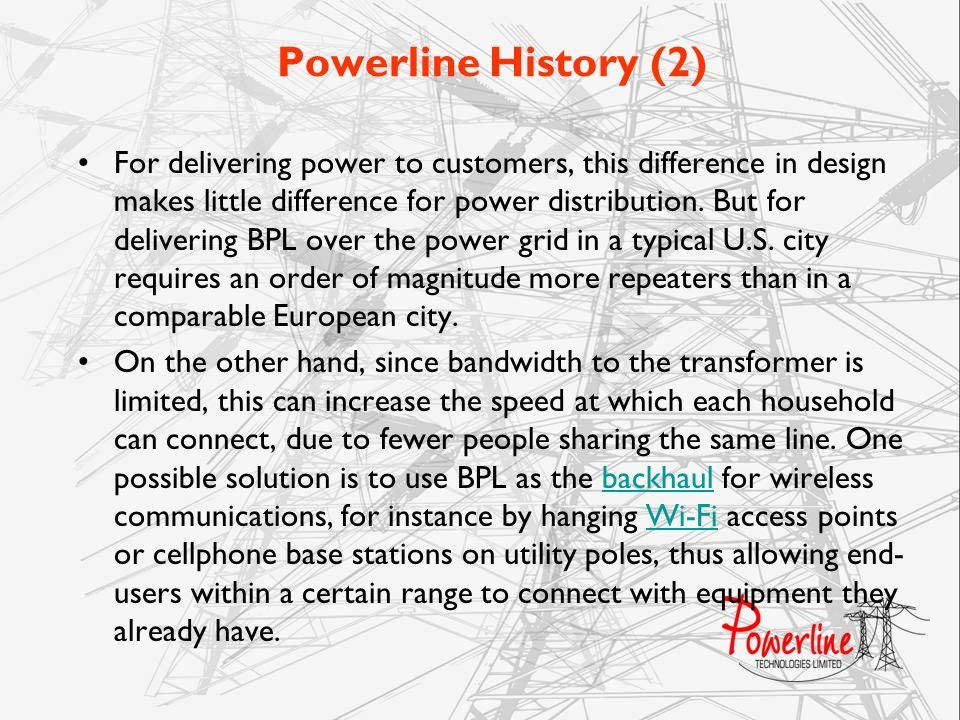 Powerline History (2)