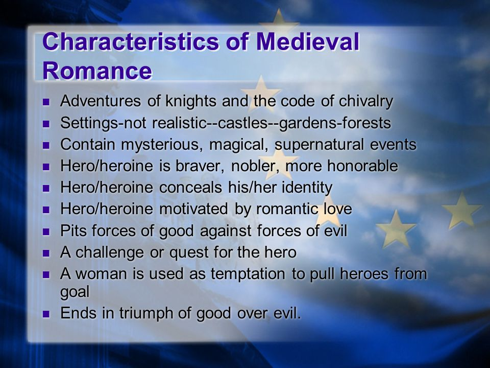 an overview of the characteristics of chivalry and the knighthood Introduction prowess: to seek excellence in all endeavors expected of a knight,  martial and otherwise, seeking strength to be  do not restrict your exploration to  a small world, but seek to infuse every aspect of your life with these qualities.