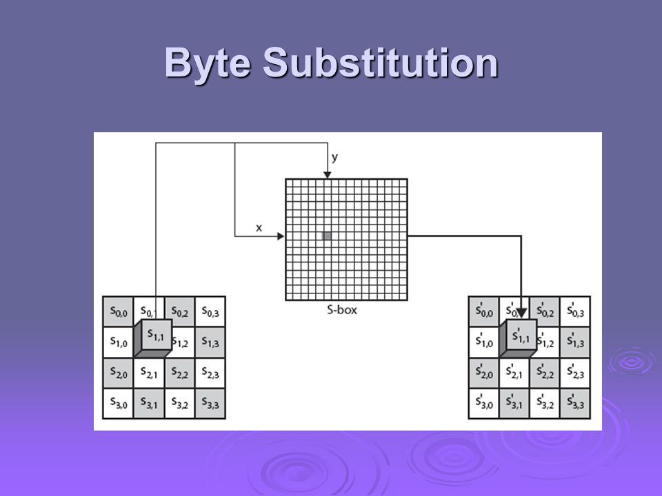 Byte Substitution