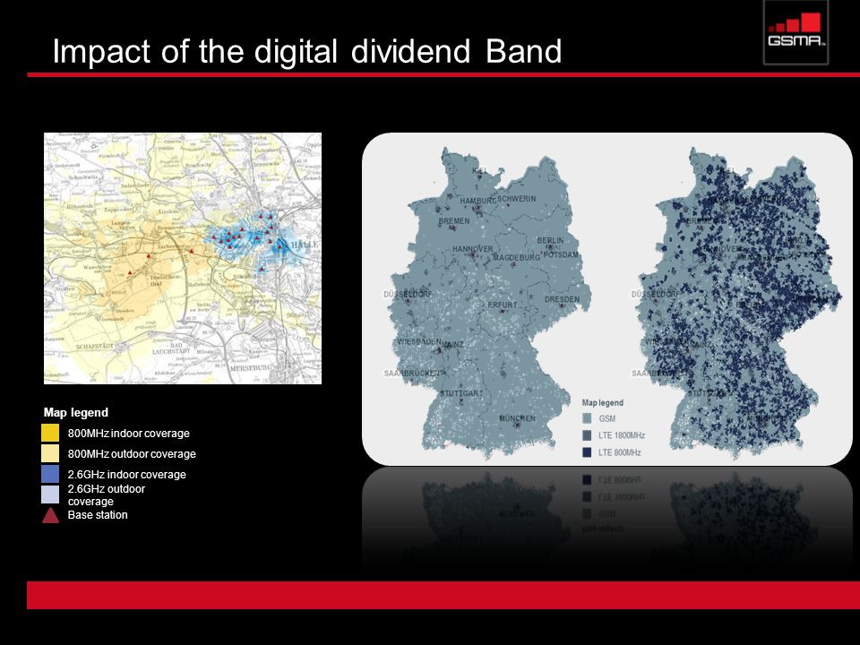 Impact of the digital dividend Band