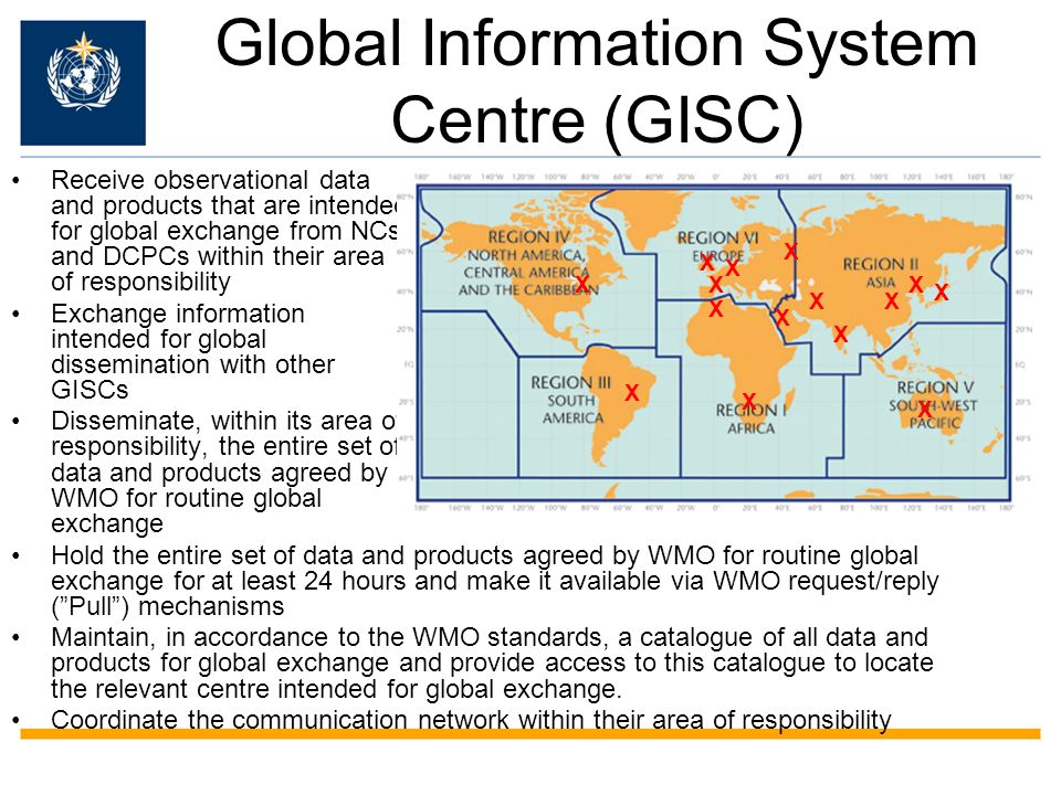 Global Information System Centre (GISC)