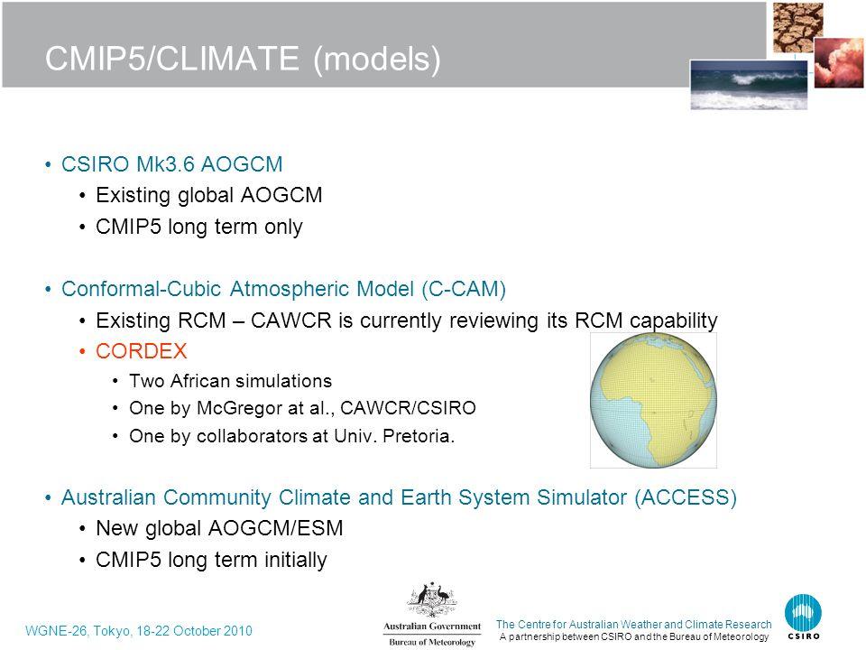 CMIP5/CLIMATE (models)