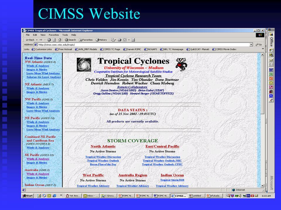 CIMSS Website