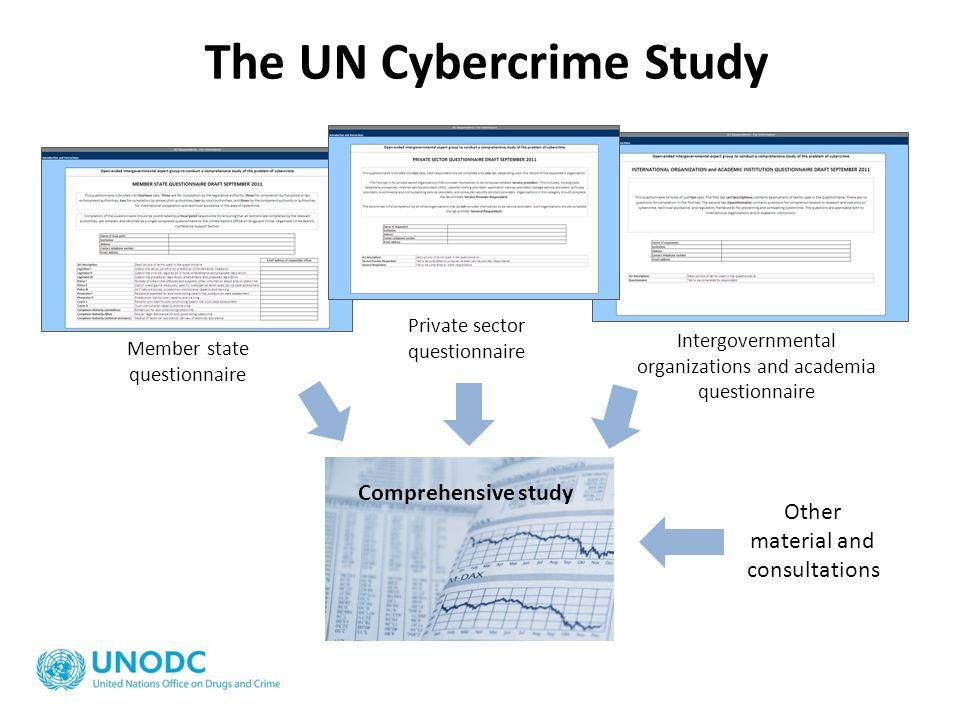 The UN Cybercrime Study