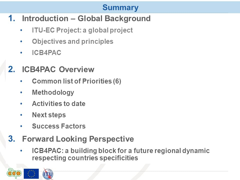 Introduction – Global Background