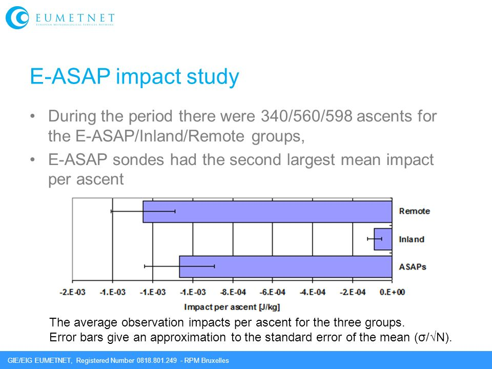 E-ASAP impact study During the period there were 340/560/598 ascents for the E-ASAP/Inland/Remote groups,