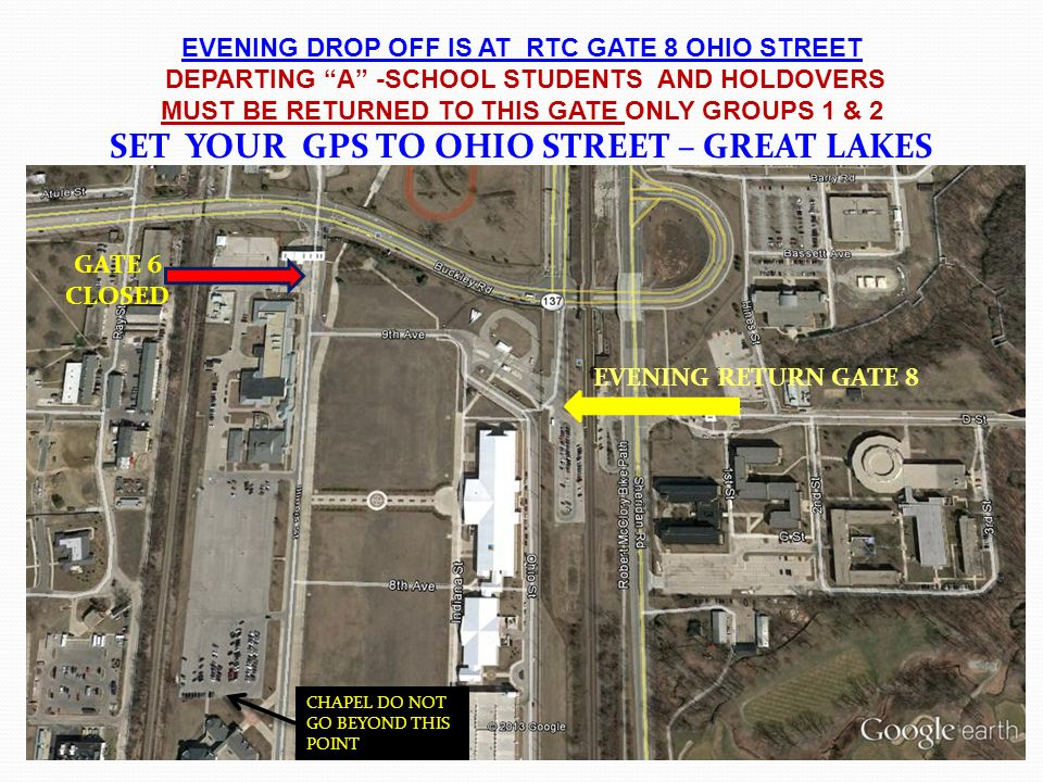 SET YOUR GPS TO OHIO STREET  GREAT LAKES  ppt video online download