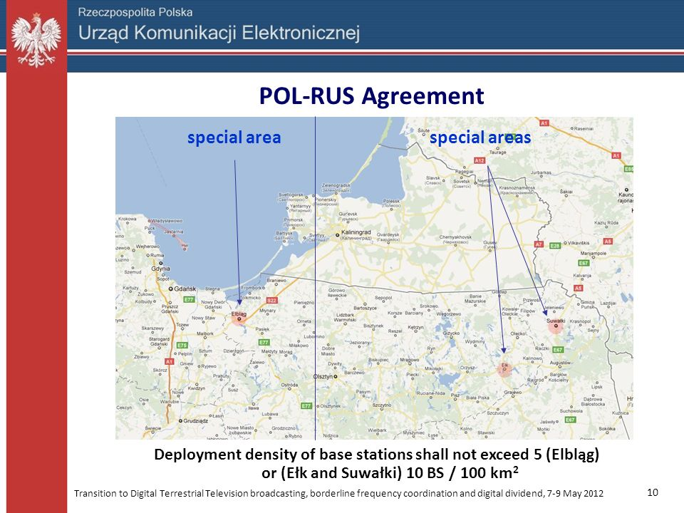 POL-RUS Agreement special area special areas