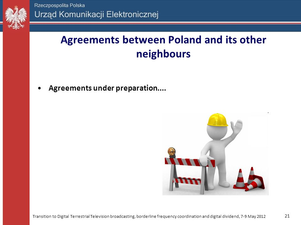 Agreements between Poland and its other neighbours