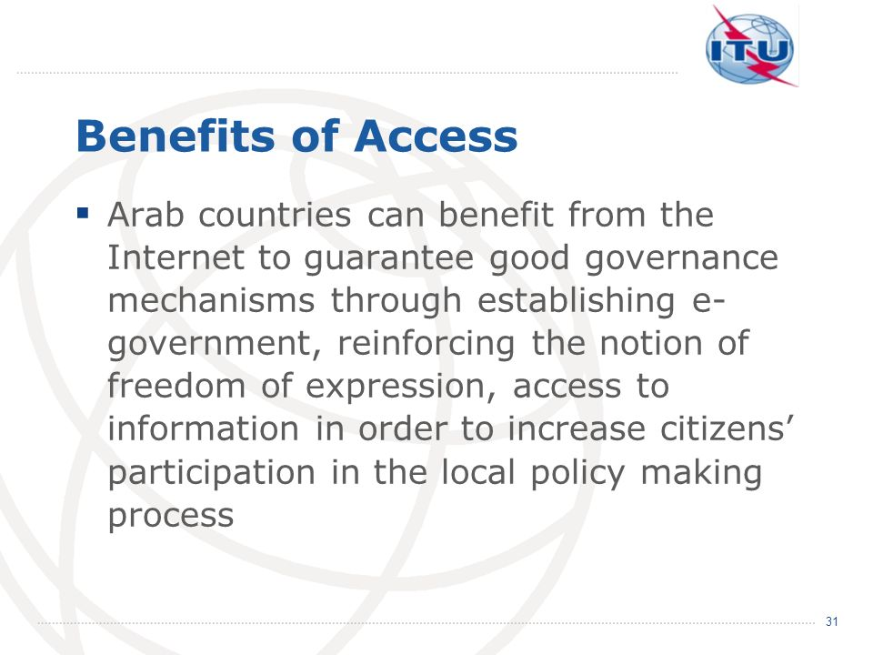 Benefits of Access