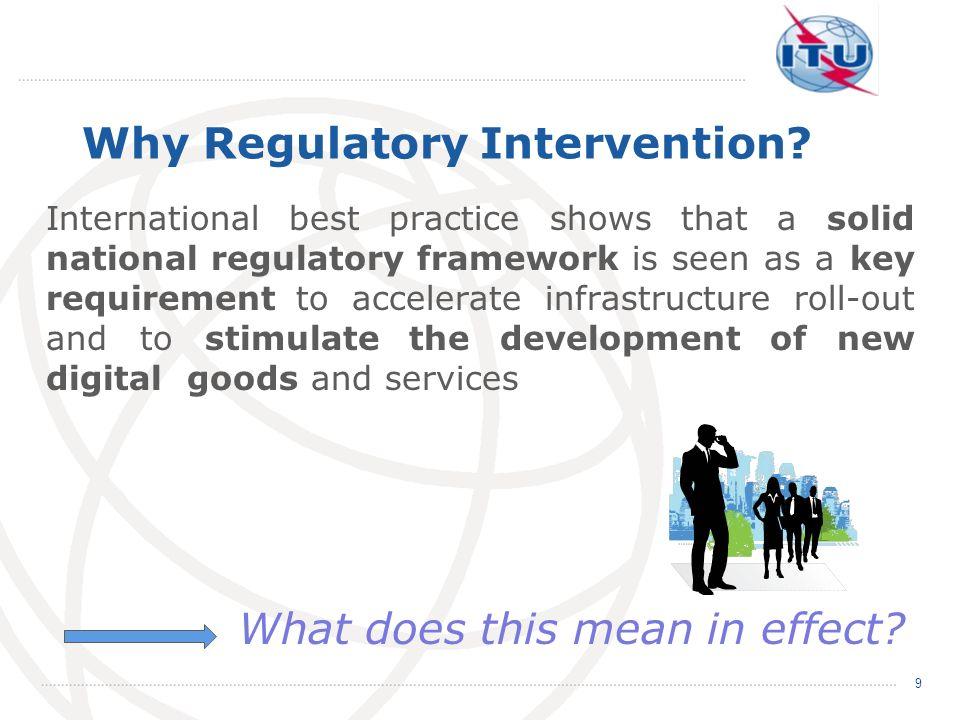 Why Regulatory Intervention