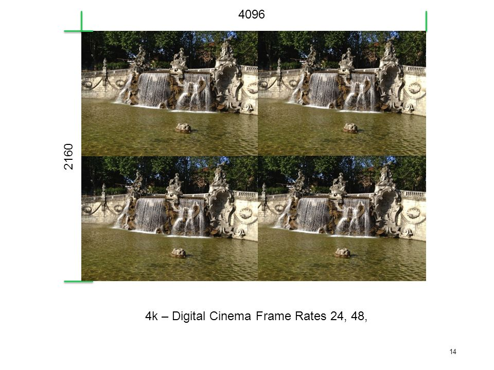 4096 2160 4k – Digital Cinema Frame Rates 24, 48,