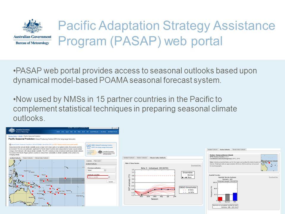 Pacific Adaptation Strategy Assistance Program (PASAP) web portal