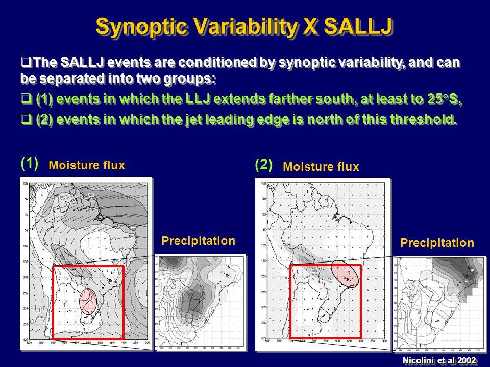 Synoptic Variability X SALLJ