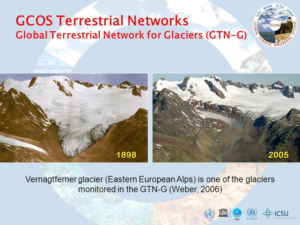 GCOS Terrestrial Networks Global Terrestrial Network for Glaciers (GTN-G)