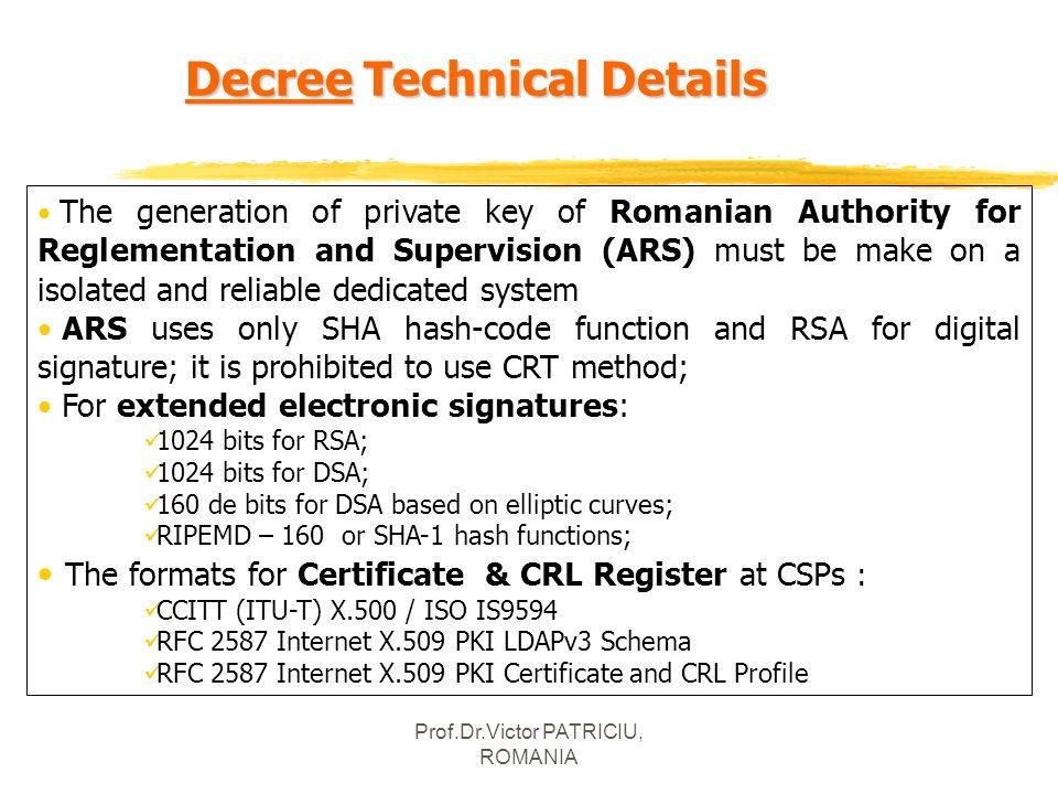 Decree Technical Details
