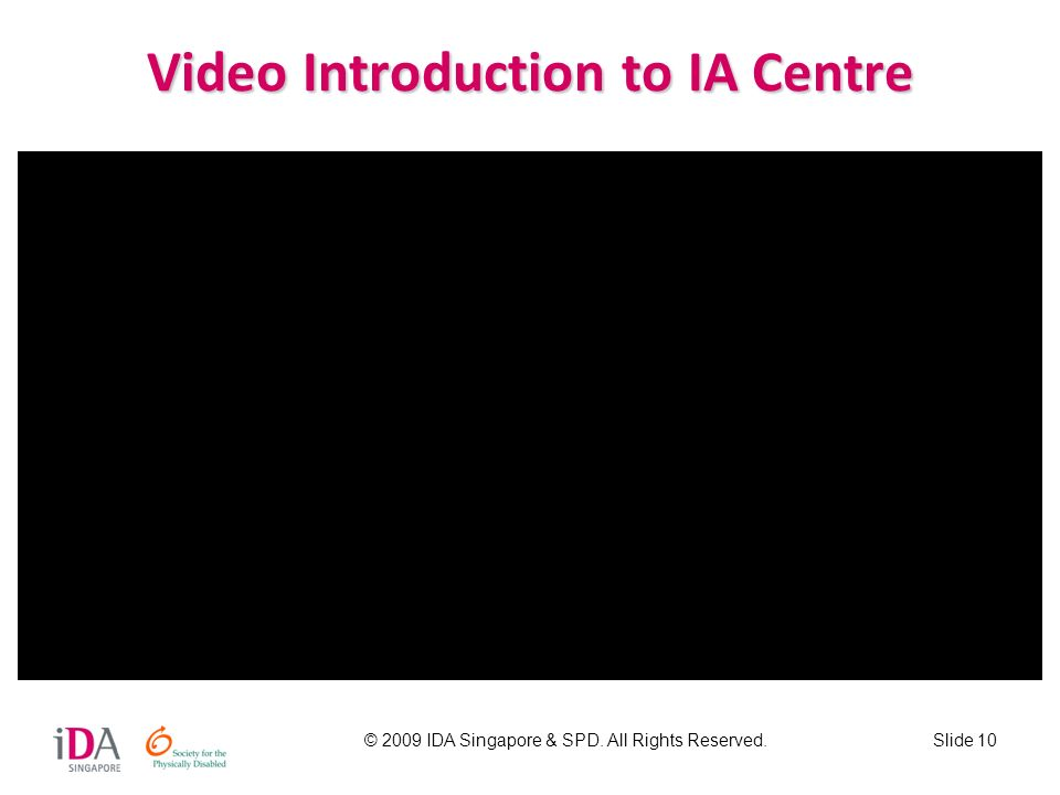 Video Introduction to IA Centre