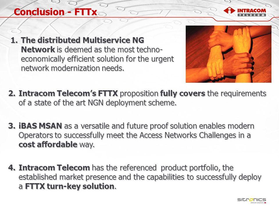 Conclusion - FTTx