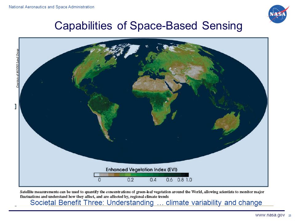 Capabilities of Space-Based Sensing