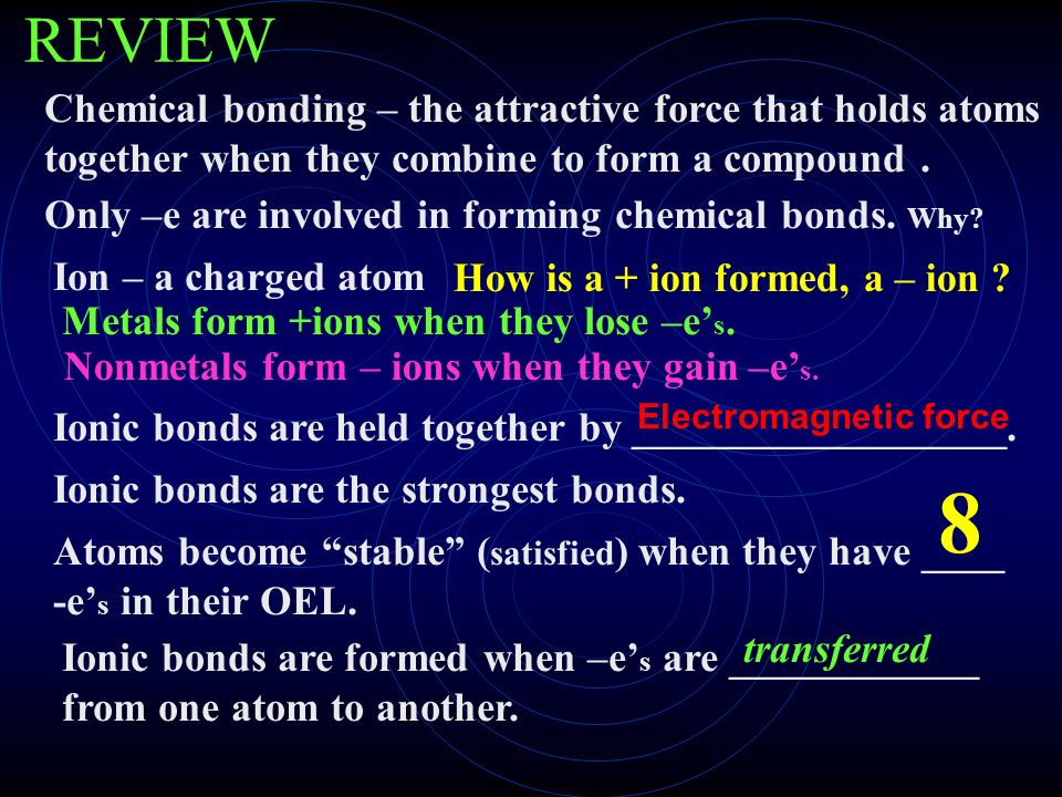 Additional Info: Metallic Bonds - ppt download