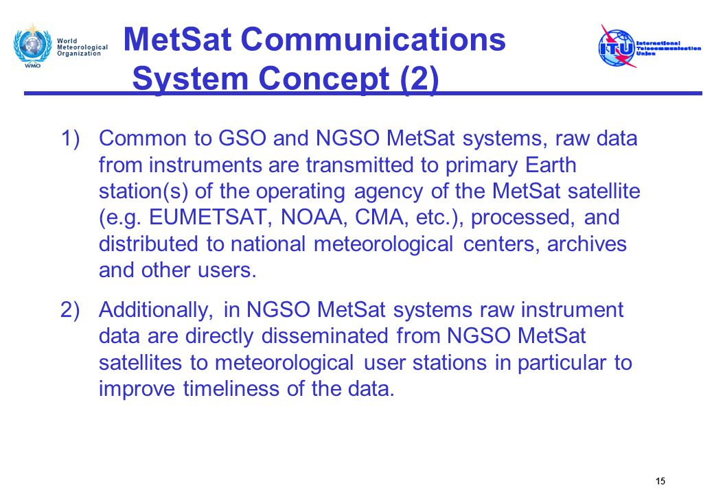 MetSat Communications System Concept (2)