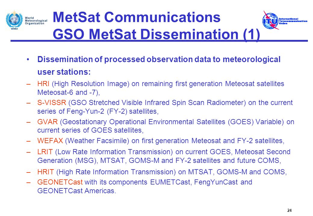 MetSat Communications GSO MetSat Dissemination (1)