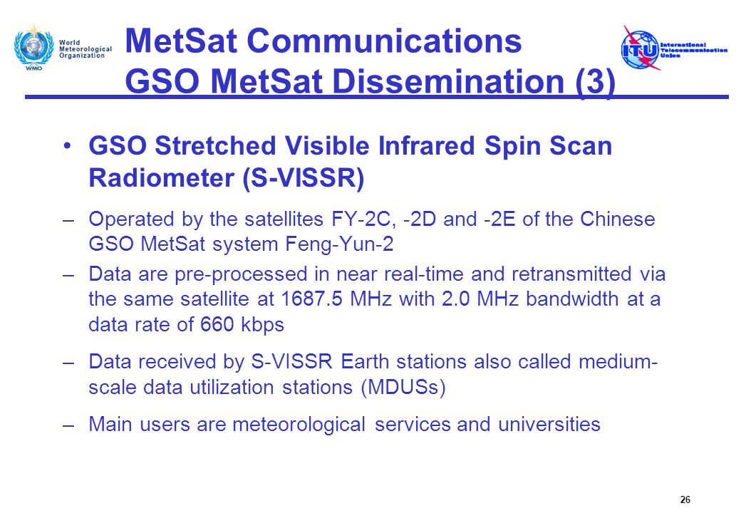 MetSat Communications GSO MetSat Dissemination (3)