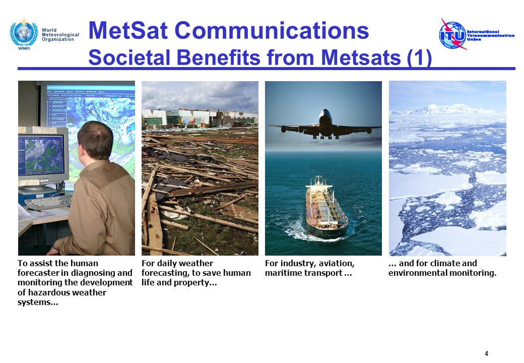 MetSat Communications Societal Benefits from Metsats (1)