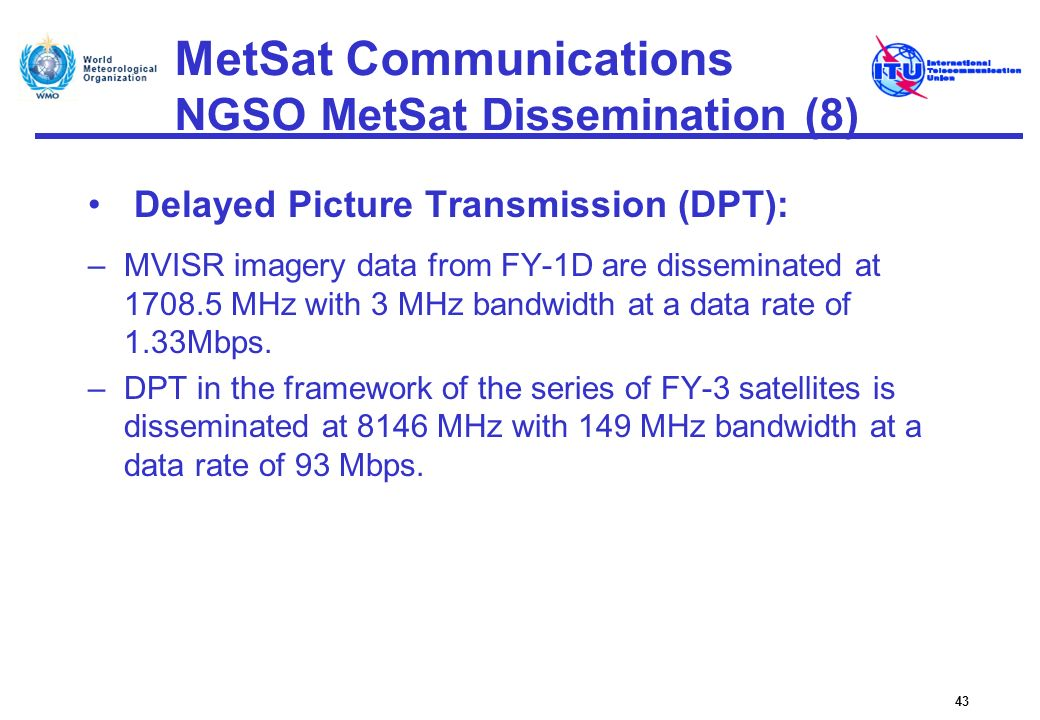 MetSat Communications NGSO MetSat Dissemination (8)
