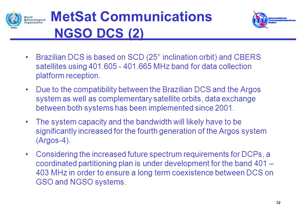 MetSat Communications NGSO DCS (2)